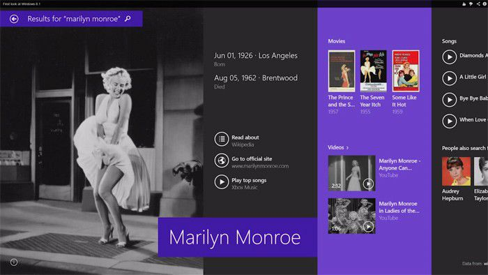 Marilyn Monroe windows 81