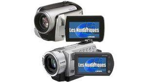 Test de caméscopes : Sony DCR-SD190 et Panasonic SDR-H20
