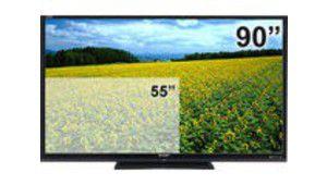 Le téléviseur Sharp géant de 90