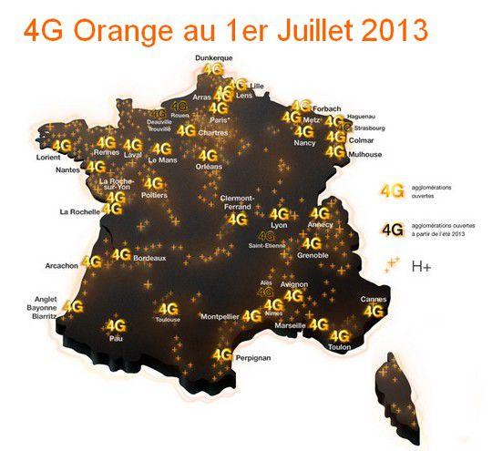 4g orange juillet 2013
