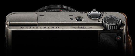 Hasellblad Stellar camera top