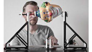 Un scanner de surface comme générateur de boucles sonores