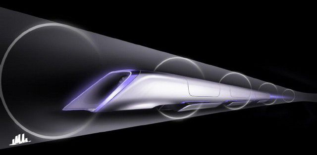 Hyperloop transport capsule