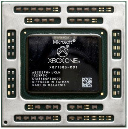 Xbox One AMD Chip