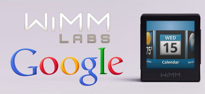 Google Wimm Labs montre