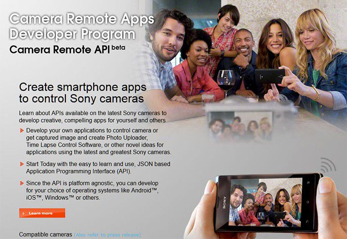 Sony CameraRemote API