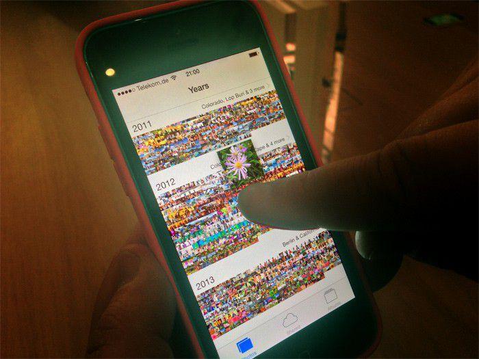 Iphone 5c mains