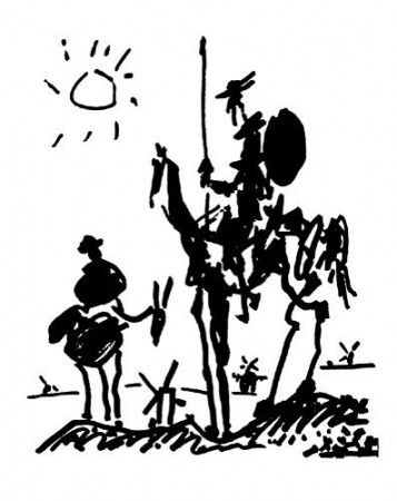 Don quichotte picasso