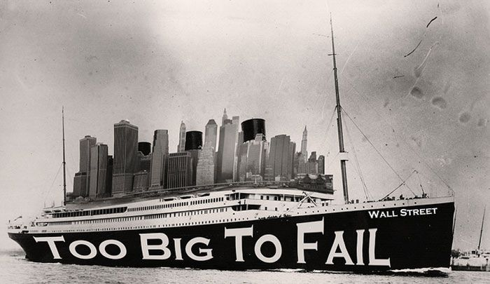 Wall Street Too Big To Fail
