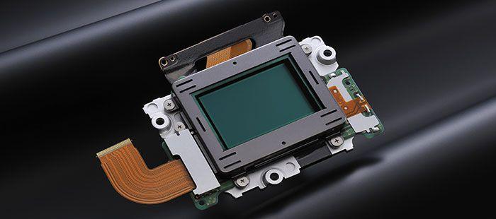 Nikon D610 sensor