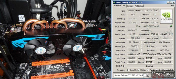 Geforce gtx760ti leaks