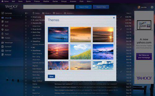 Yahoo mail redux