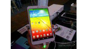 Factory 2013 : la tablette LG G Pad en photos