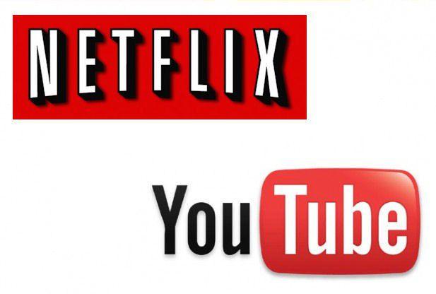 Youtube et netflix