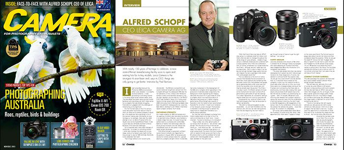 Alfred Schopf interview