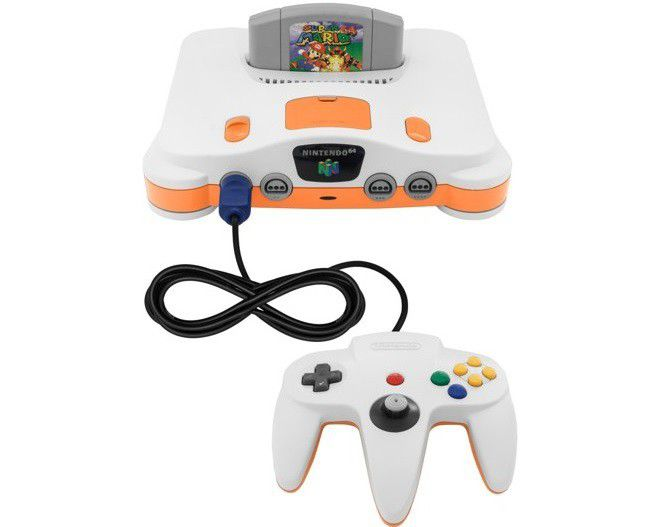 Nintendo 64 jeu mario 64 (1)(3)