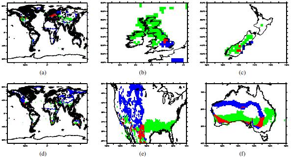 Maps climat