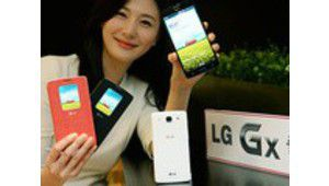 LG GX : un smartphone Full HD compatible VoLTE