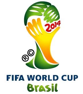 Logo mondial bresil 2014