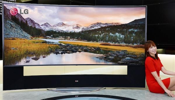 Lg tv incurvee 105 pouces ultra hd