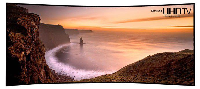 Samsung tv uhd ces courbe