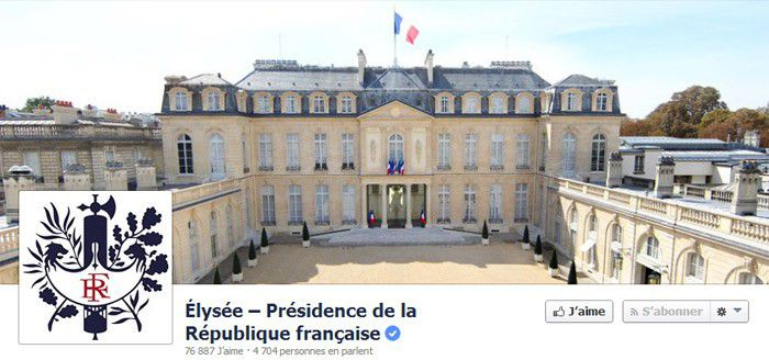 Facebook president republique
