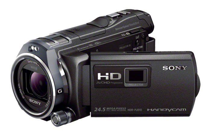 Sony HDRPJ810 ecran