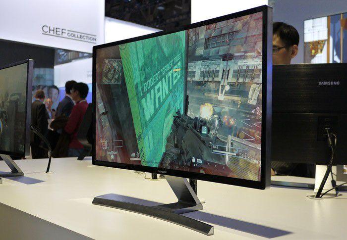 Samsung lcd incurve moniteur lcd