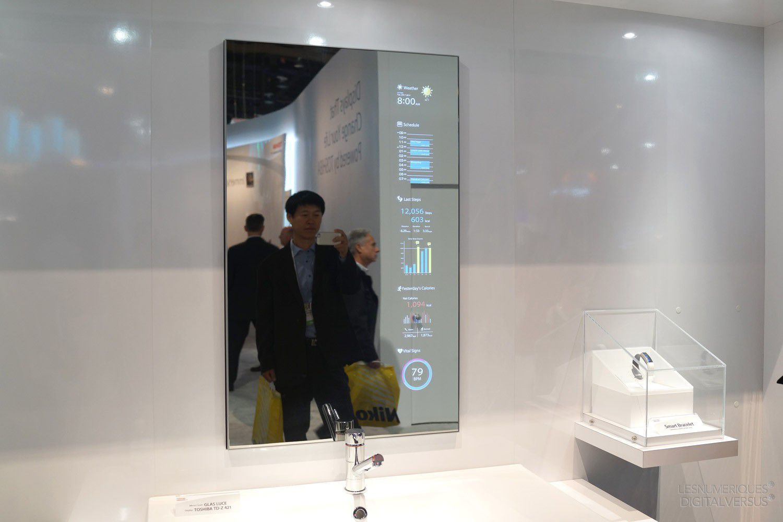 Ces Des Concepts D Crans Miroirs Chez Toshiba