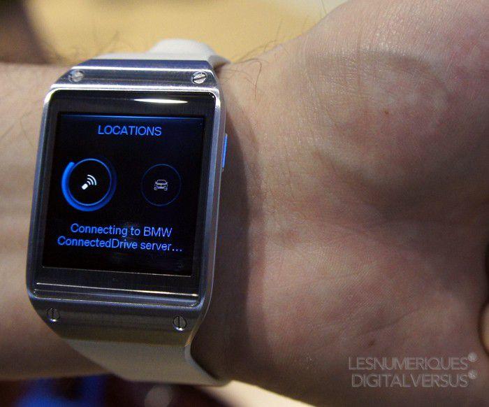BMW i3 Samsung Galaxy Gear
