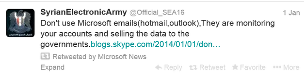 Twitter Msoft   mail message