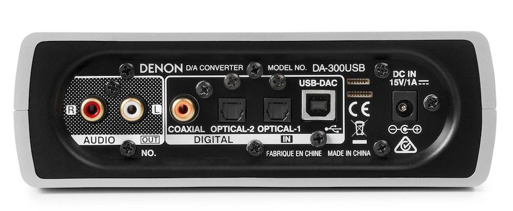 Denon DA 300USB product back