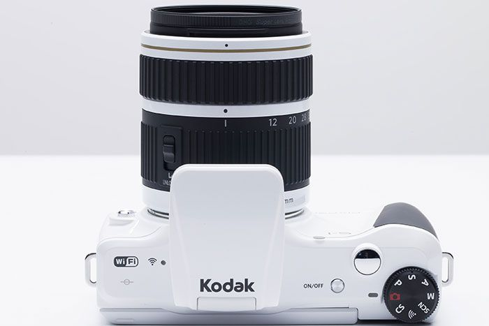 Kodak S1 top