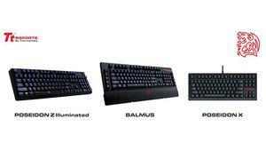 CES : Thermaltake présente trois nouveaux claviers
