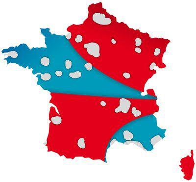 Découpage SFR Bouygues 2018