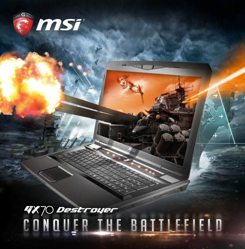 MSI GX70 Destroyer banner