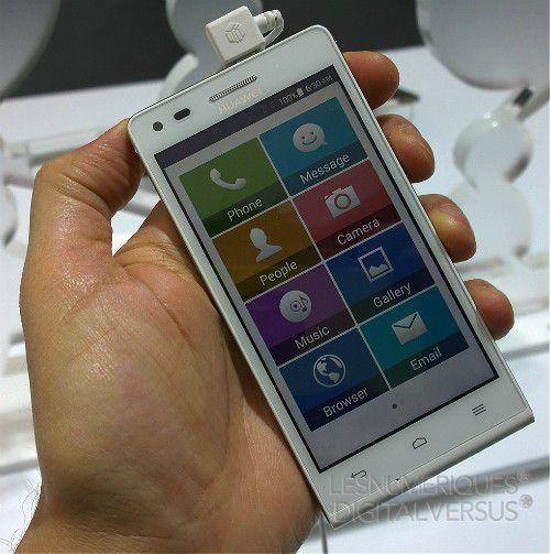 Prise en main du Huawei Ascend G6