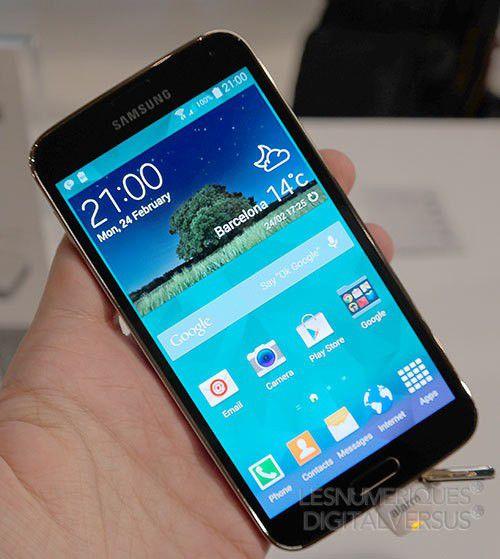 Prise en main du Samsung Galaxy S5