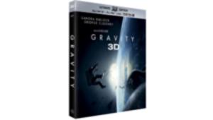 Gravity débarque en rayon en Blu-ray et en 3D