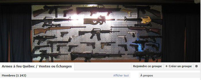 Facebook armes
