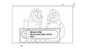 Samsung planche sur un clavier en réalité augmentée