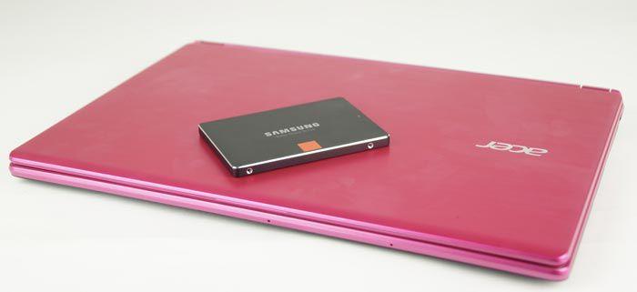 Acer Aspire V rose SSD