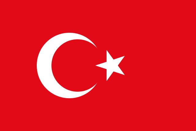 Turquie drapeua