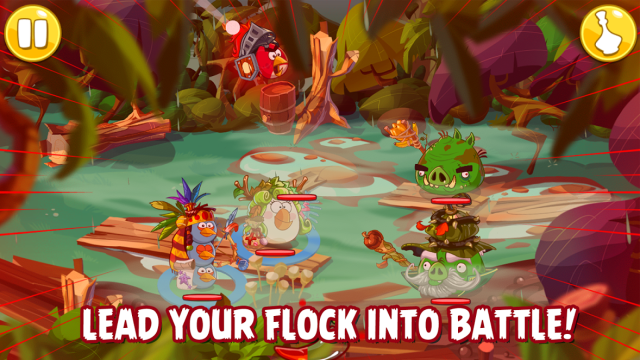 Angry Birds Epic Fight
