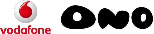 Vodafone et Ono logos