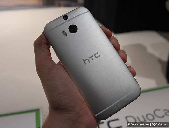 Prise en main HTC One M8