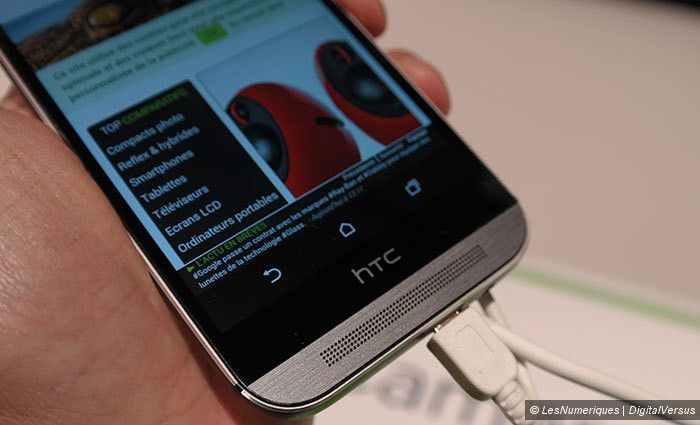 Prise en main HTC One M8