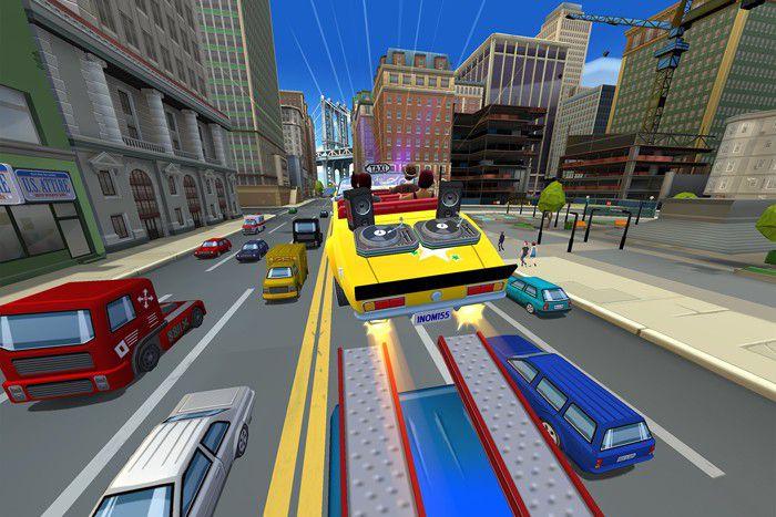 Crazy taxi city rush