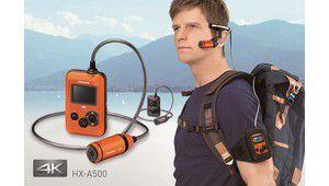 Panasonic HX-A500: une caméra 4K à l'oreille