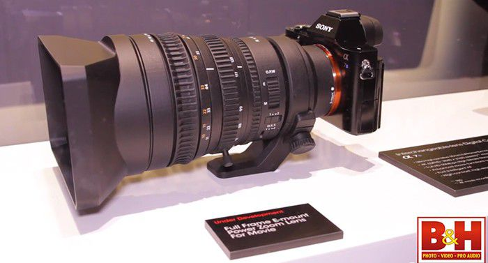 sony 28-135 mm f/4 FE power zoom